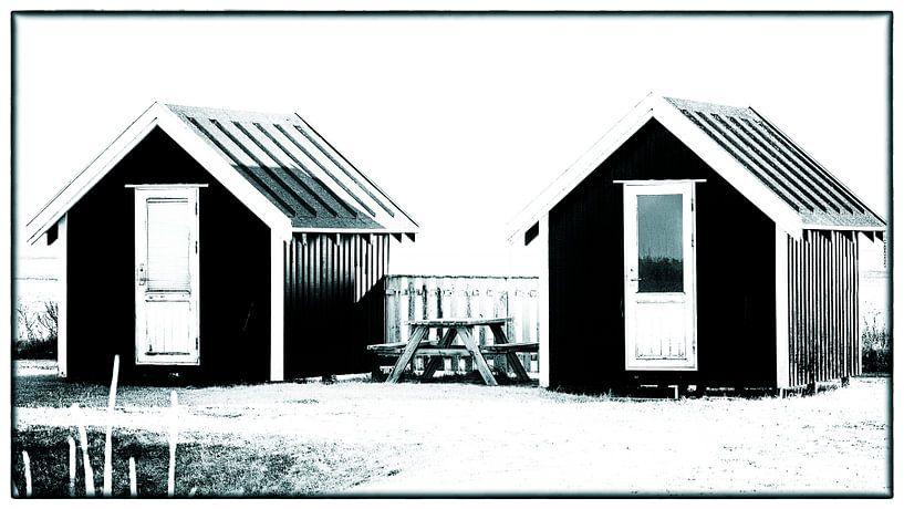 Kleine Hütten 5 von Kirsten Warner