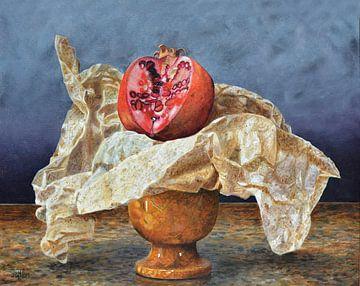 Granaatappelstilleven van Trevor Neal