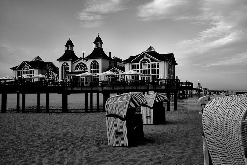 Seebrücke Sellin von Iritxu Photography