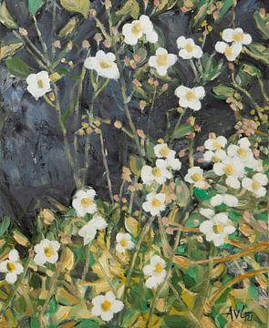 Herbst Anemonen von Antonie van Gelder Beeldend kunstenaar