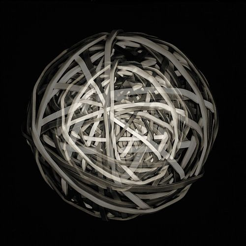 Rubber band planet