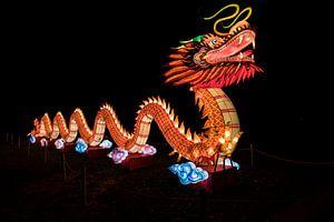 draak voor chinees nieuw jaar