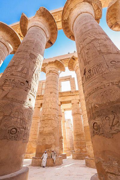 Karnak Tempel - Luxor, Egypte van Bart van Eijden