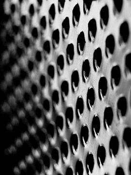 Abstrakte Fotografie in Schwarzweiß von Art By Dominic