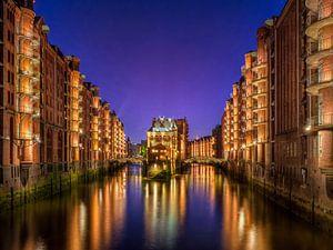 Hamburg - Speicherstadt van