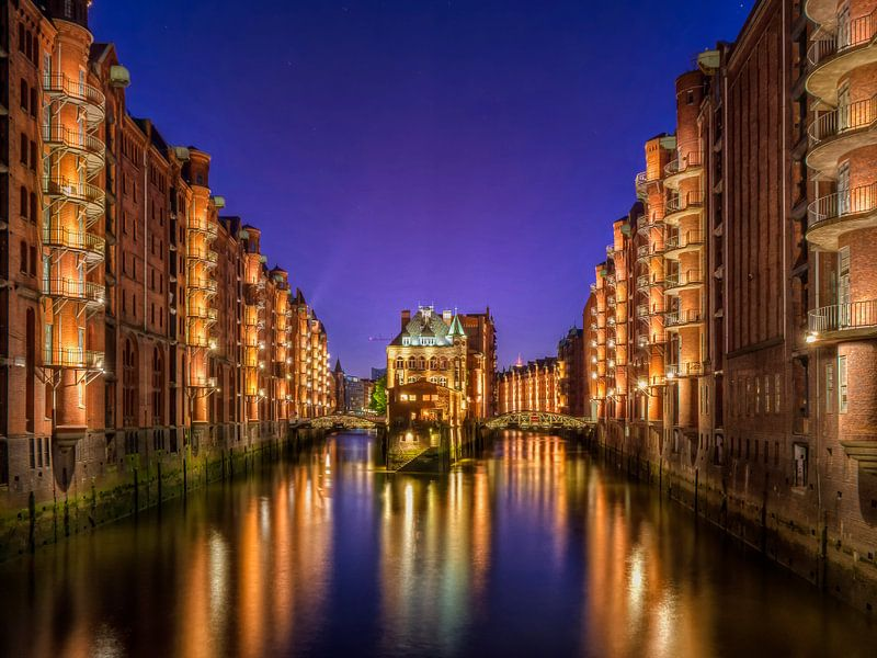 Hamburg - Speicherstadt van Carina Buchspies
