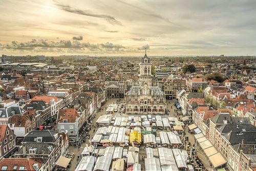 Markt op de Markt in Delft