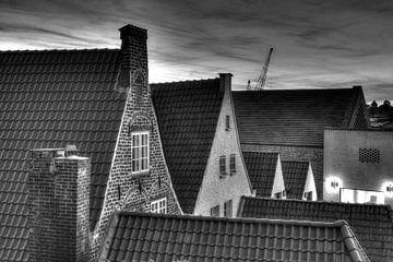 Historiche Giebelhäuser in der Altstadt, Lübeck von Torsten Krüger