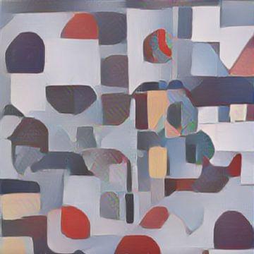 Abstract Inspiratie VIII van Maurice Dawson