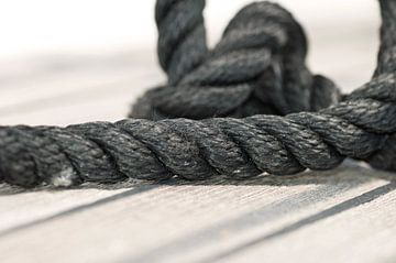 Seil, Schiffstau von Agnes Meijer