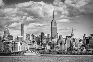 MIDTOWN MANHATTAN | Monochrom von