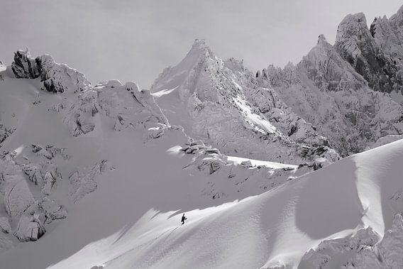 Winter Bergsteiger Chamonix