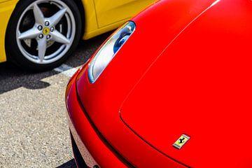 Ferrari F430 detail sur Sjoerd van der Wal