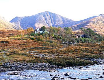 Highlands écossais, Écosse, paysage sur Liefde voor Reizen