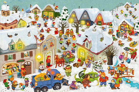 Winterferien van Marion Krätschmer