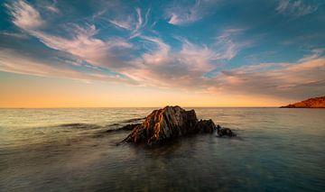 Sonnenuntergang in Südfrankreich von Rob Bout
