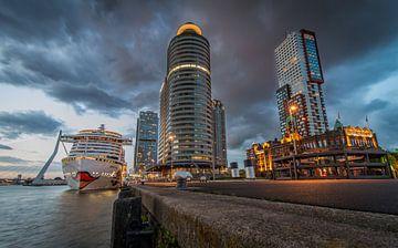 De Kop van Zuid in Rotterdam van Peter Hooijmeijer