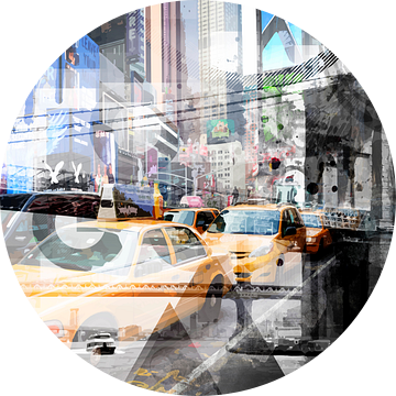 New York City   Geometric Mix No. 9 van Melanie Viola