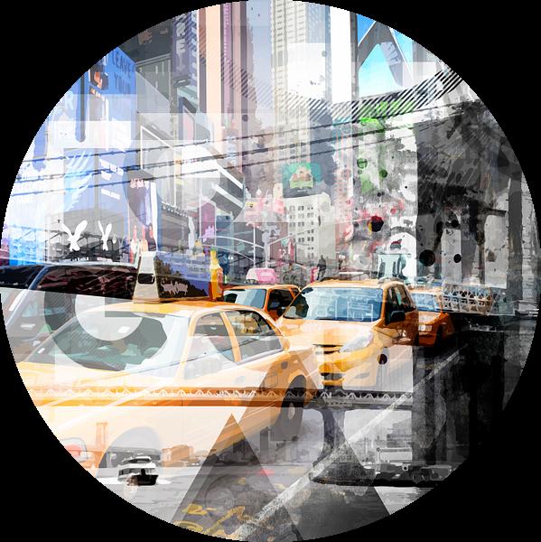 New York City | Geometric Mix No. 9 van Melanie Viola