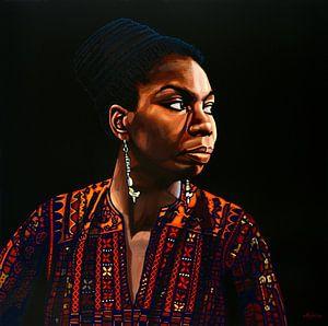 Nina Simone Schilderij