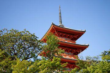 Wunderschöner Tempel in Kyoto - Japan. von M. Beun