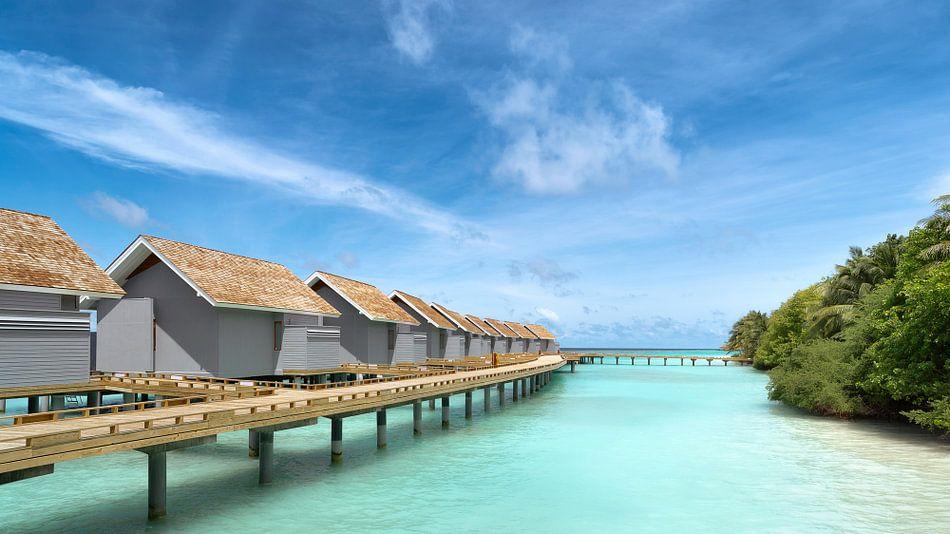 Watervilla's op de Malediven