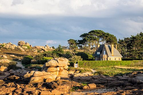 Rocks in the Brittany