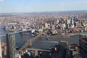 New York van boven van Charella Hulsbosch