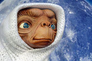 E.T. in a blanket sur Natasja Tollenaar