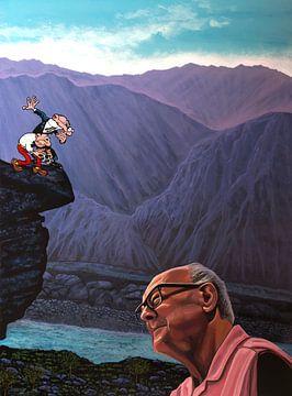 Malerei Ibanez mit seinem Clever und Smart von Paul Meijering