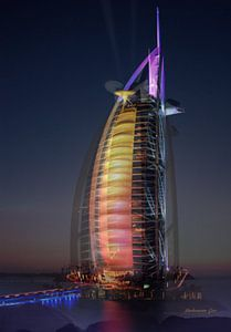 Burj al-arab van