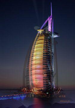 Gebäude: Burj al-Arab von Jos Verhoeven