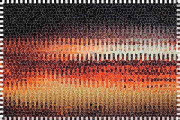 Rood en zwart van Jolanta Mayerberg