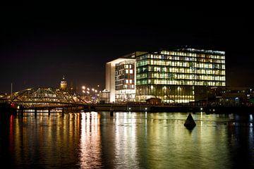 Amsterdams Conservatorium in avondlicht von Wim Stolwerk