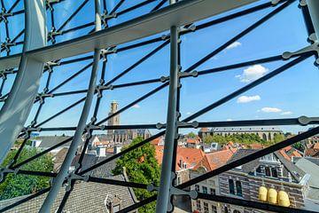 Uitzicht over Zwolle van de Fundatie sur Sjoerd van der Wal
