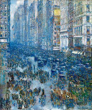Childe Hassam, Fifth Avenue (New York), 1919