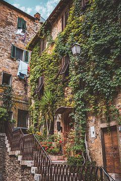 Muur in Italië van S van Wezep