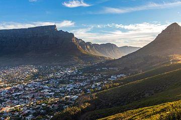 Kapstadt mit Tafelberg von Antwan Janssen
