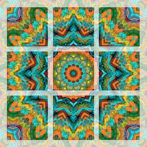 Kleurrijk Mandala van