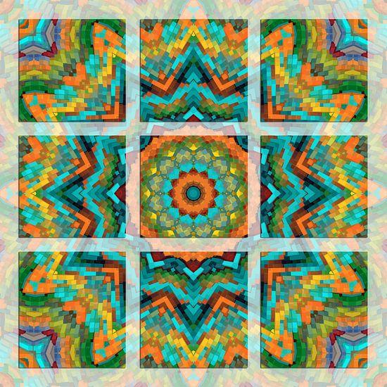 Kleurrijk Mandala
