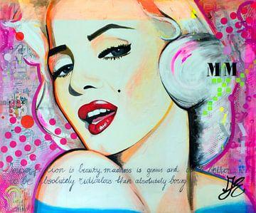 Marilyn Monroe von Janet Edens