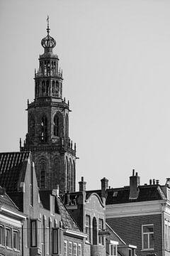 Martini-Turm von Groningen von Foto's uit Groningen