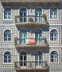 Lissabon facade van Mark de Boer
