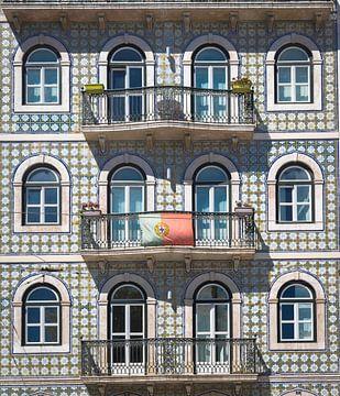 Façade de Lisbonne sur Mark de Boer