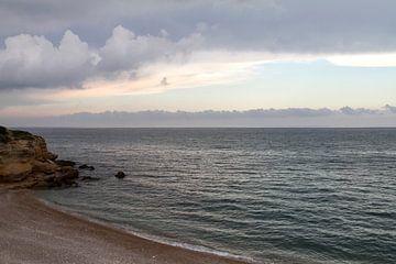 Uitzicht aan zee von José Verstegen