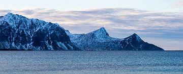 Noorwegen winter von Wim van D