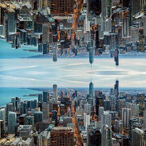 Skyline Chicago Mirror 1