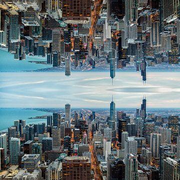 Skyline Chicago Mirror 1 van