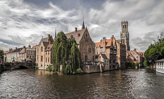 De Rozenhoedkaai in Brugge van MS Fotografie