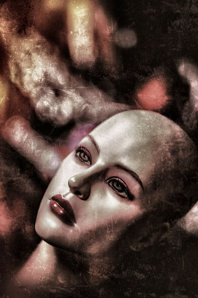 Almost Human  52 van Margriet Cloudt